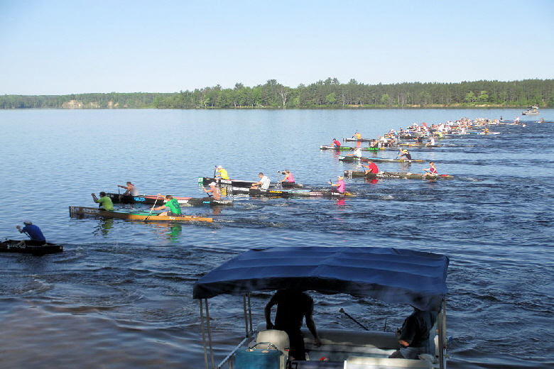 Alcona Pond Canoe Race