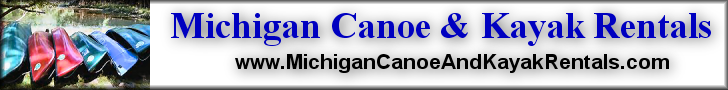 Banner - Michigan Canoe & Kayak Rentals