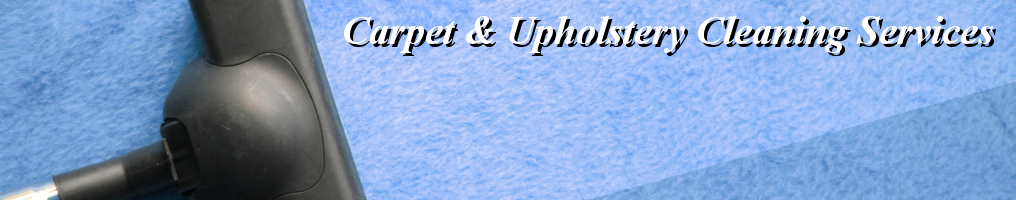 Masthead - Carpet & Upholstery Cleaning Services