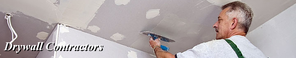 Masthead - Drywall Contractors